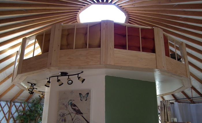 Strawhouse Resorts' Yurt