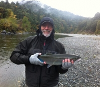 Michael's Steelhead with Calif Fly Shop Nov 2012
