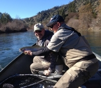 Pete with California Fly Shop – Feb. 2013