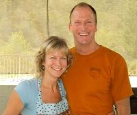 Julia and Don Ellis, owners of the Strawhouse